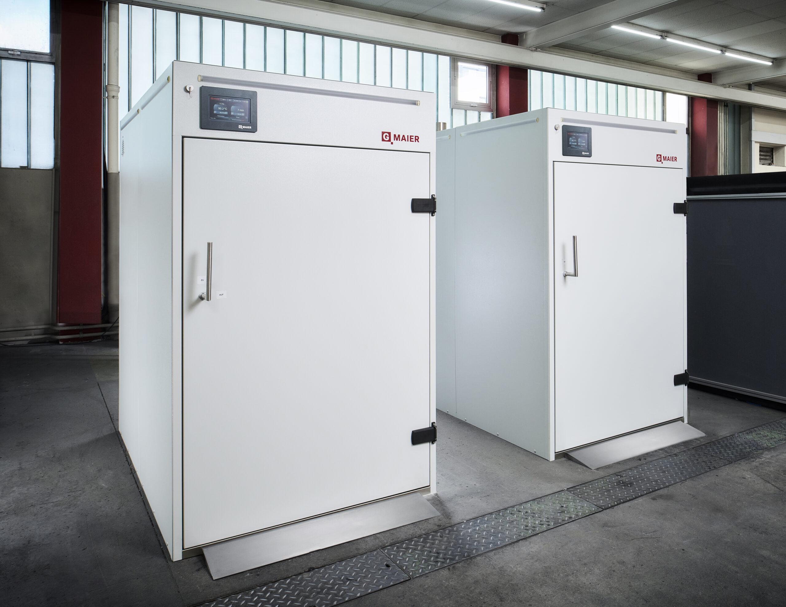 Wärmeschränke und Batchöfen von G MAIER