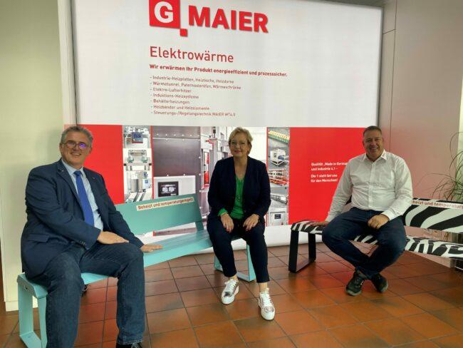 Michael Donth bei G. MAIER
