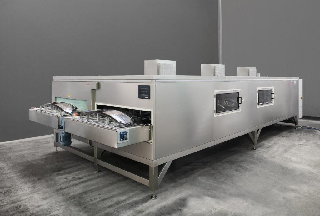 Durchlaufofen von G MAIER mit Kühlzone