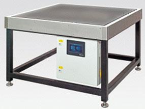 Robuster Industrie-Heiztisch mit umlaufender Wärmedämmung