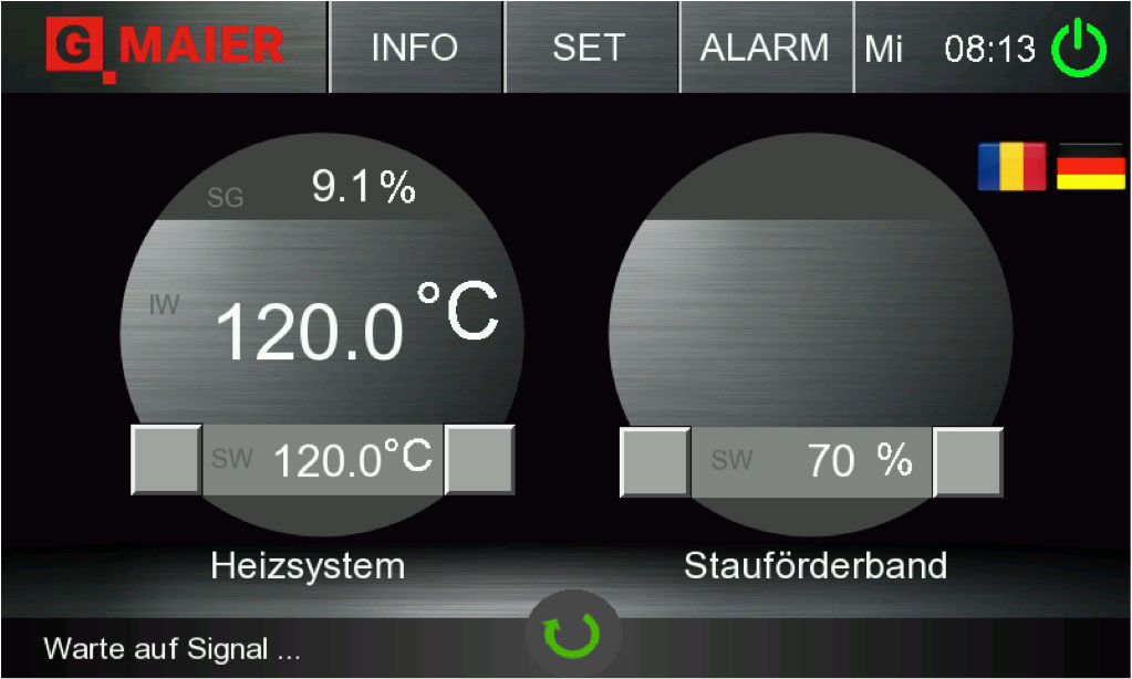 MAIER WT4.0 - intuitive Bedienung