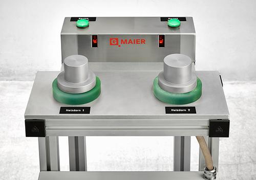 Station mit zwei Heizdornen für ein schnelles und energieeffizientes Aufheizen